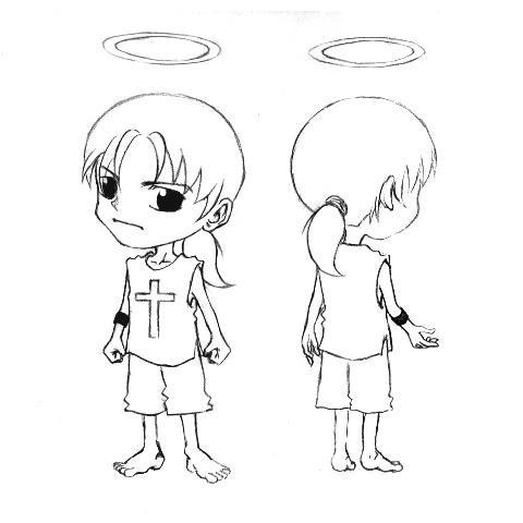 失落的天使人物設定之一