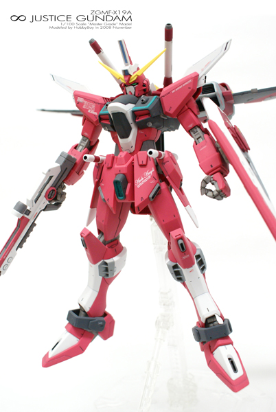 [MG] ∞ JUSTICE[MG]1/100 ∞ JUSTICE GUNDAM「Front View」