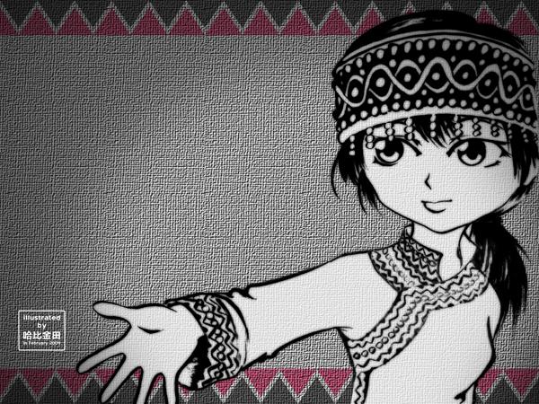布農族少女II