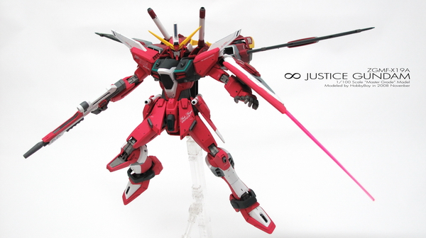 [MG] ∞ JUSTICE (ACTION POSE)