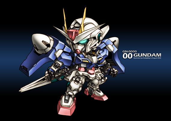 GN-0000『00 GUNDAM』CG完成率100%