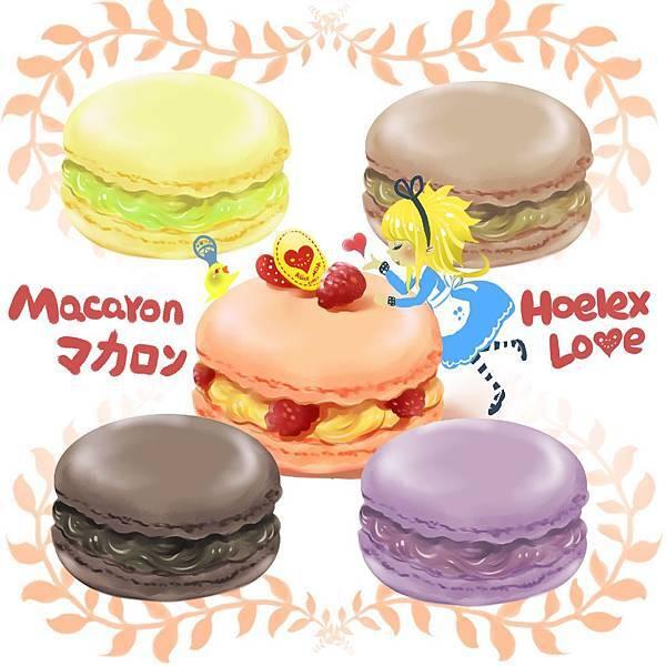 ★甜點風格-彩虹馬卡龍ALICE MacaronX5-HOELEX.jpg