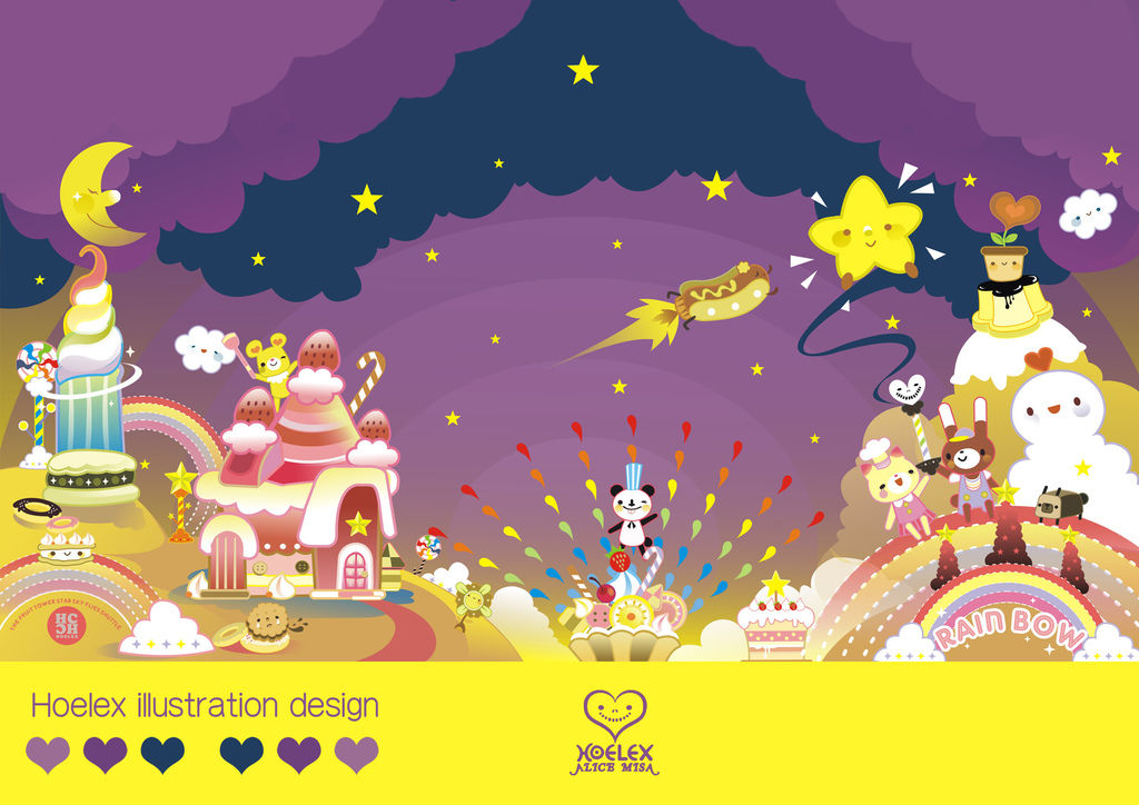 【Candy Game 糖果遊戲世界】- By Hoelex水果塔星空飛梭】