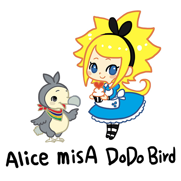 《ALICE MISA心夢少女- DODO鳥的甜點天堂》模里西斯. Mauritius By Hoelex浩理斯DODO鳥的夢幻天堂-角色檔6(小)