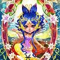 ★【HOELEX星座花語畫框系列】-雙魚座Pieces 香水百合-HOELEX(浩理斯)