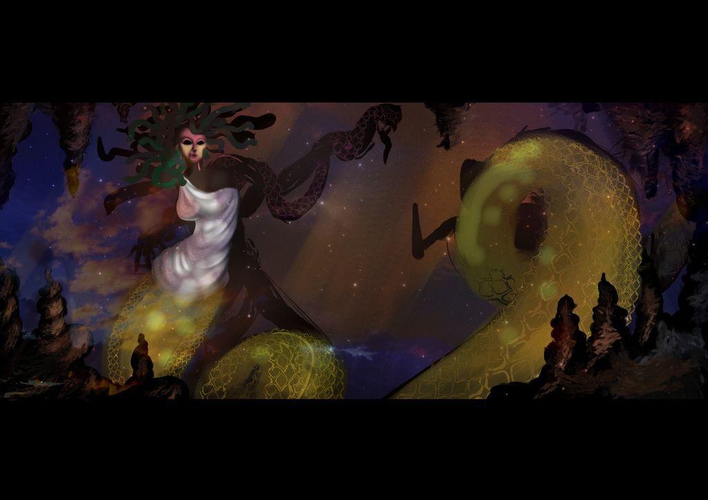 【希臘神怪★Greece spirit】--Gorgon戰鬥的梅杜莎-FAY.jpg
