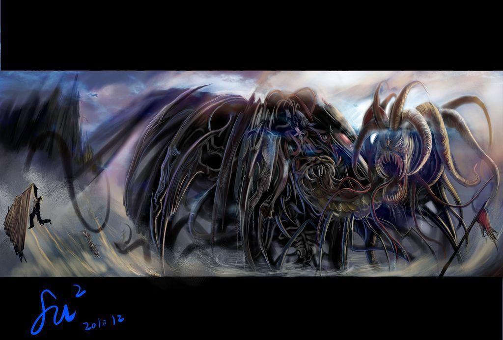 【希臘神怪★Greece spirit】-Kraken深海巨妖-童俊厚.jpg