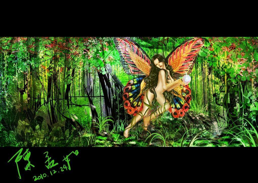 【希臘神怪★Greece spirit】-Dryad森林女神- 陳孟如.jpg