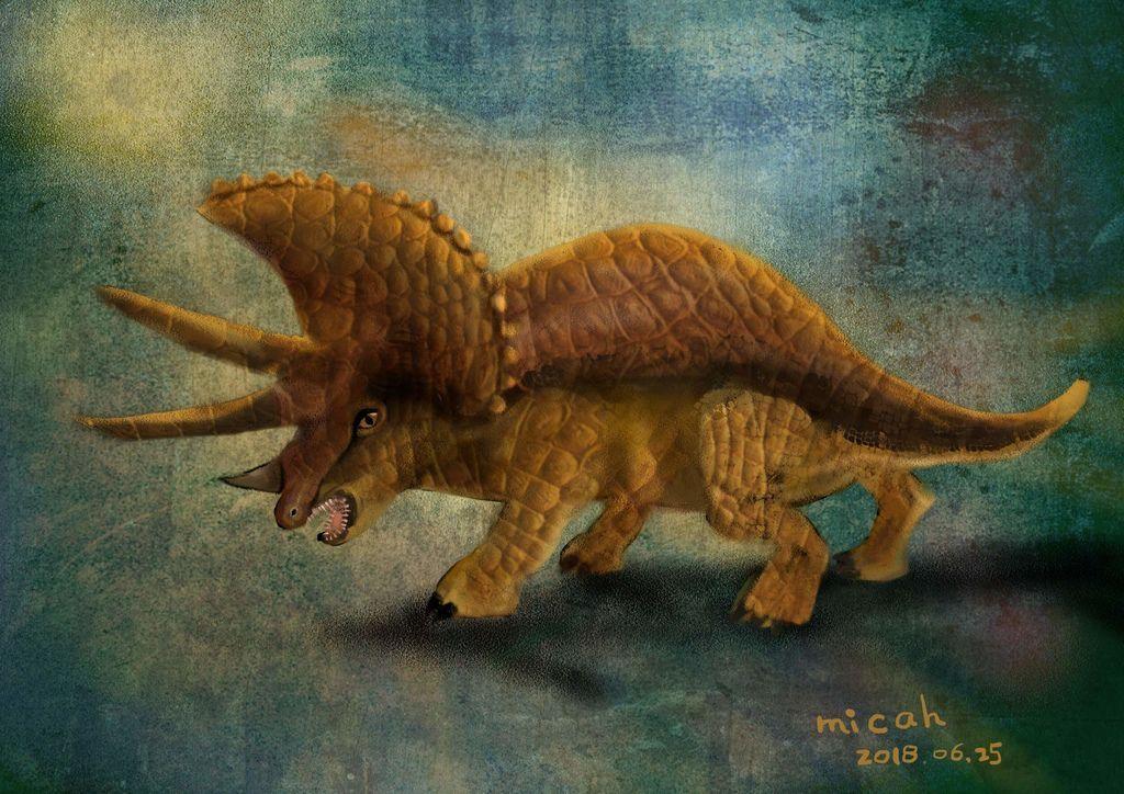 侏儸紀世界Jurassic Park_三角龍triceratops_孫逸婷_02.jpg