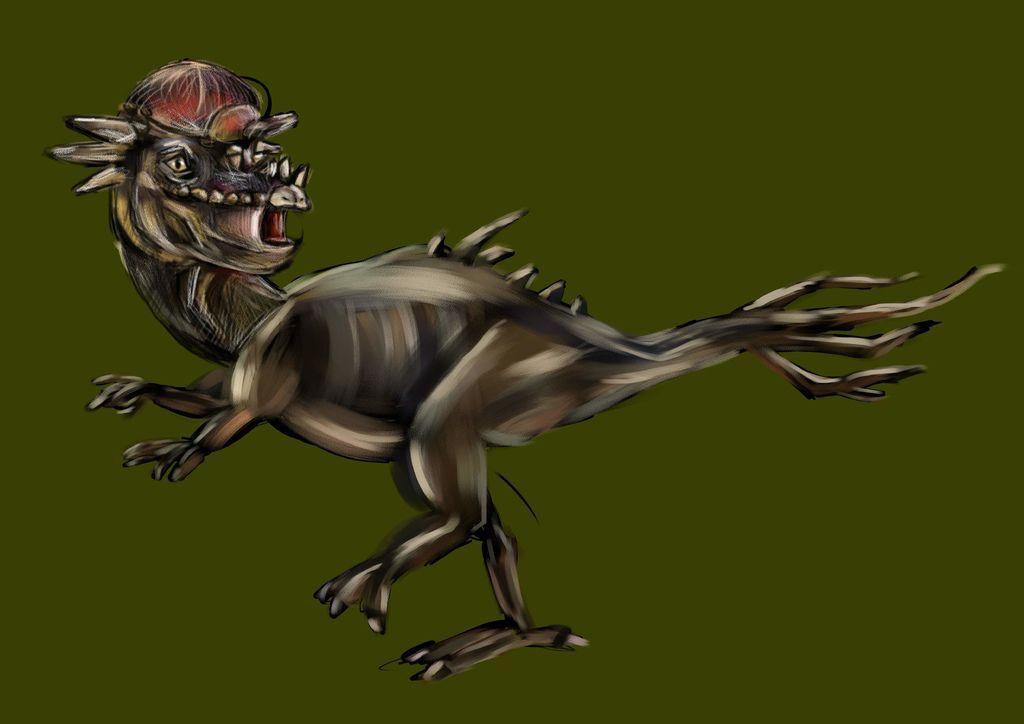 侏儸紀世界Jurassic Park-腫頭龍-小麥.jpg