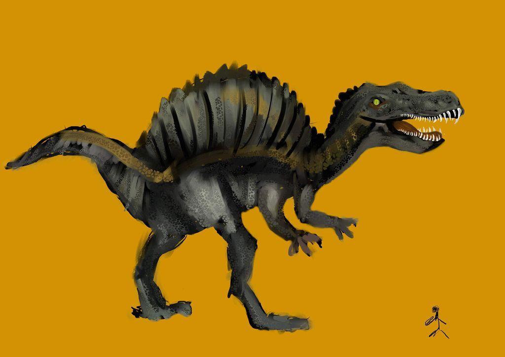 侏儸紀世界Jurassic Park-棘龍 -莊竣陽.jpg