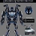 Transformers.變形金剛-Mercedes-Benz -SLS AMG-feng.JPG