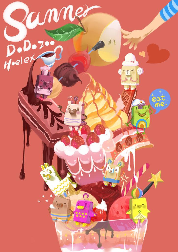 Summer ice Dessert 夏日冰甜點(一)水梨季.JPG