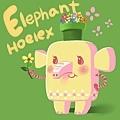 DODO方塊Elephant 花香粉小象(粉粉).jpg