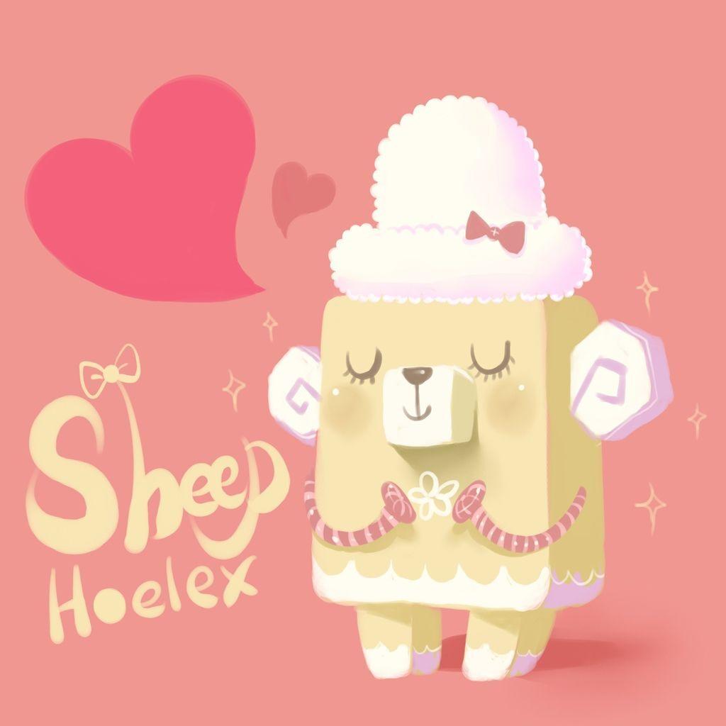 DODO方塊Sheep 戀愛綿綿羊(咩咩).jpg