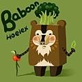 DODO方塊-Baboon花椰菜狒狒(狒狒)-HOELEX.jpg