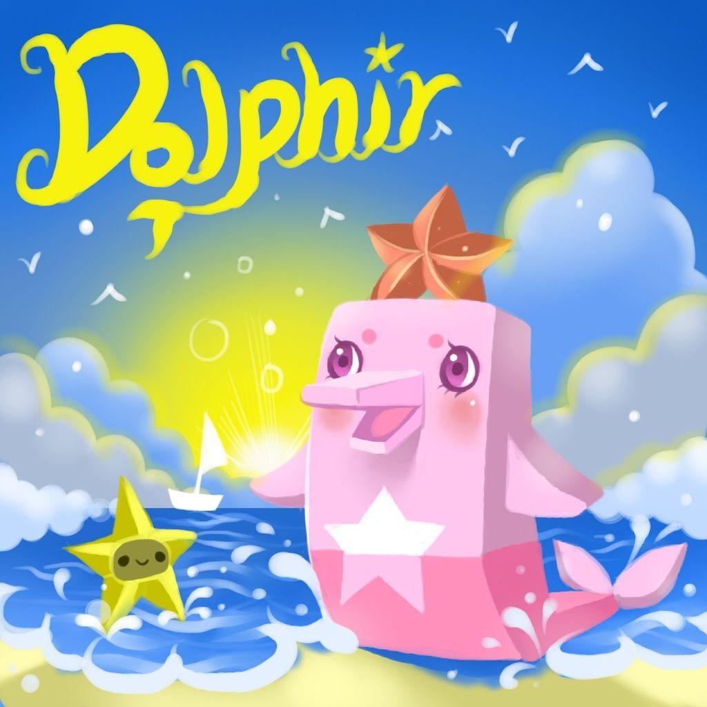 DODO方塊dolphin 海豚海洋導航師(豚豚)背景.JPG
