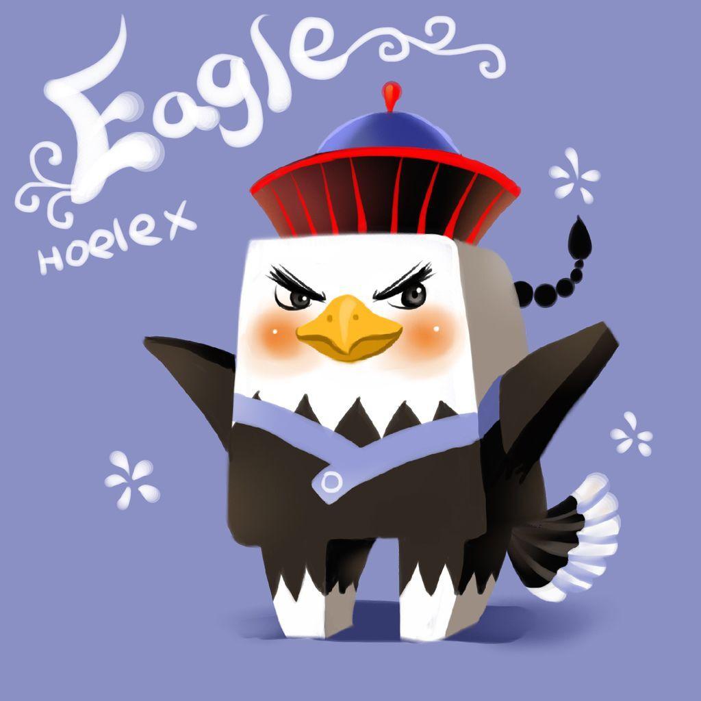 DODO方塊-Eagle老鷹貝爺(鷹鷹)-HOELEX.JPG