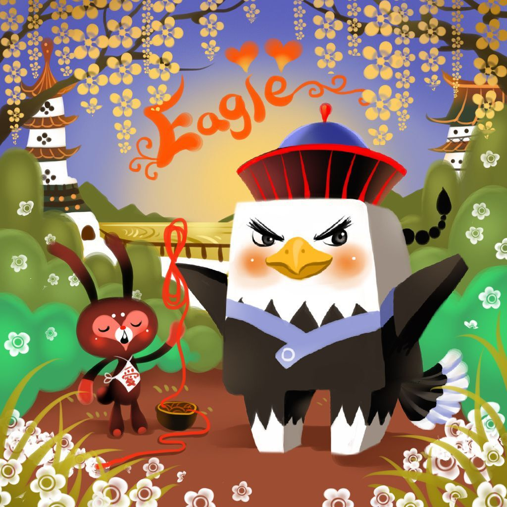 DODO方塊-Eagle老鷹貝爺(鷹鷹)-HOELEX(背景).JPG