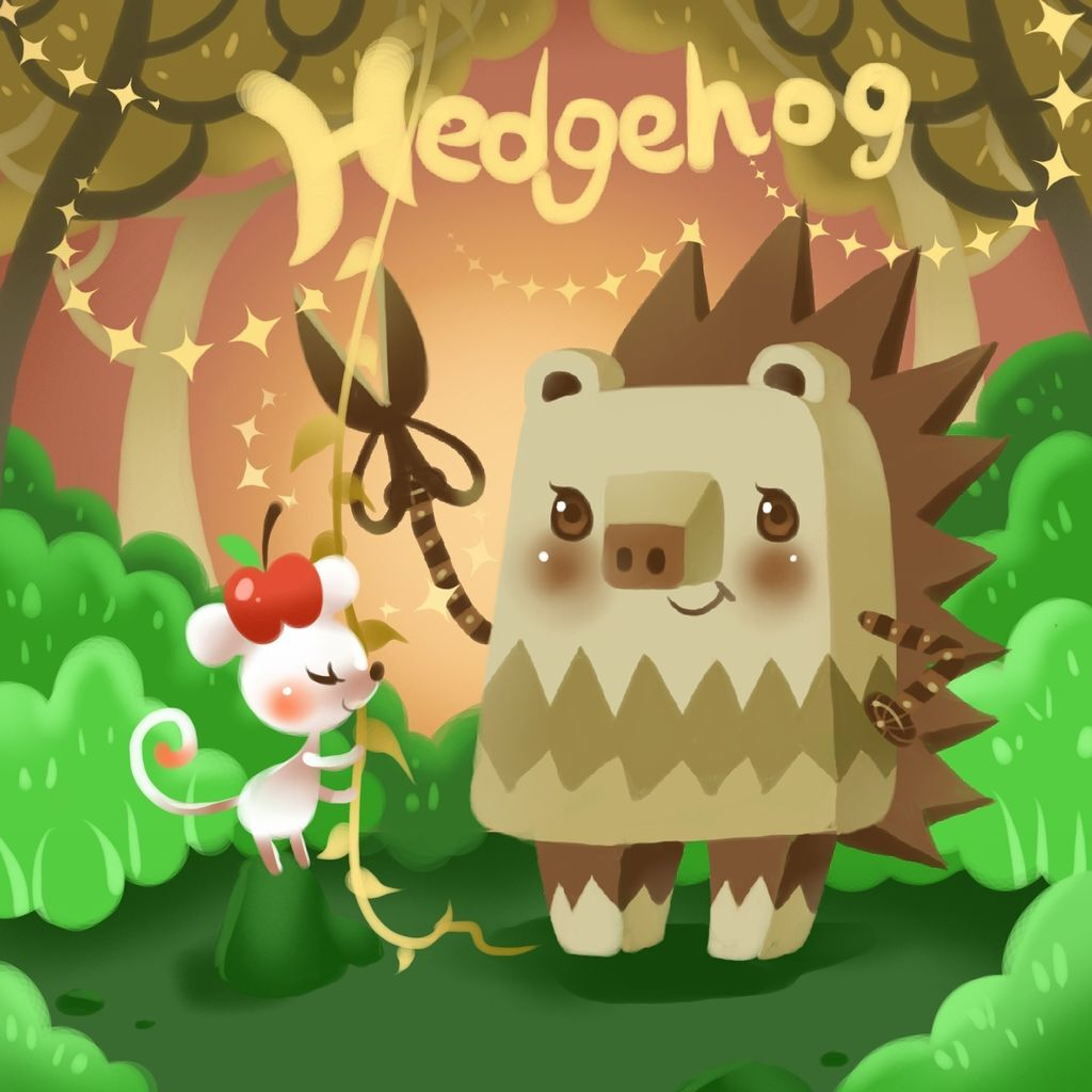 DODO方塊-Hedgehog刺蝟髮型師-HOELEX(背景).JPG