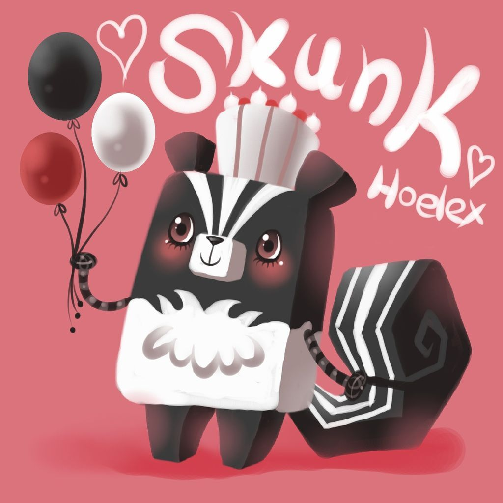 DODO方塊Skunk鼬鼠(鼬鼬).JPG