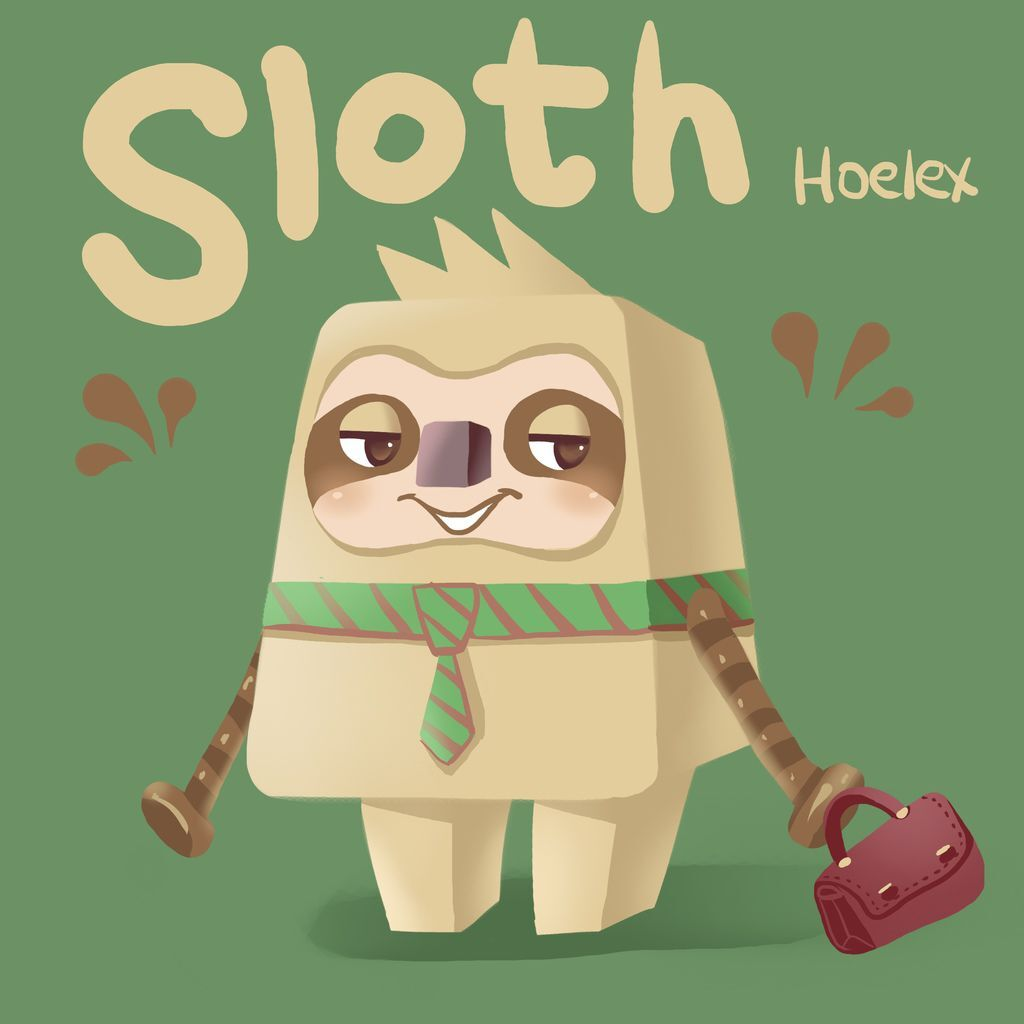 DODO方塊Sloth樹懶社長(懶懶)10.jpg
