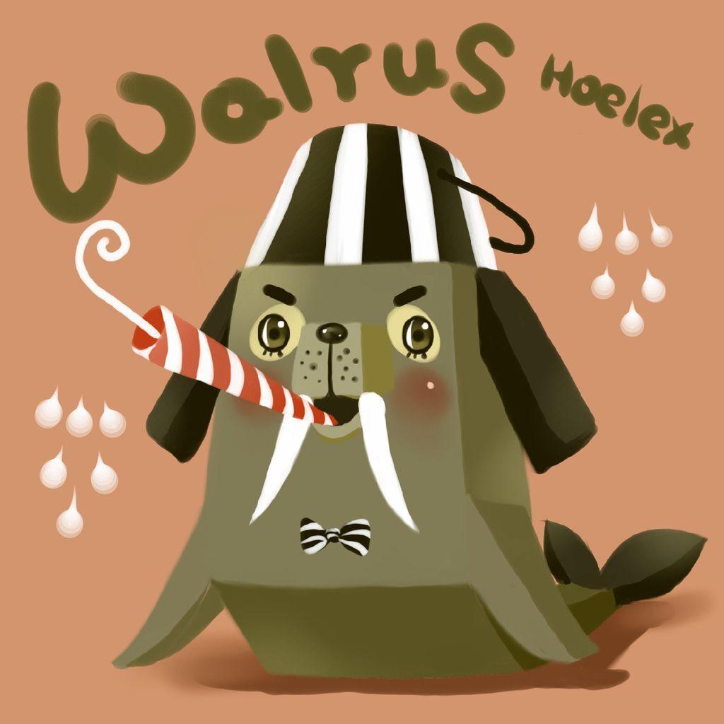 DODO方塊-walrus海象吹笛師(笛笛)-HOELEX.JPG