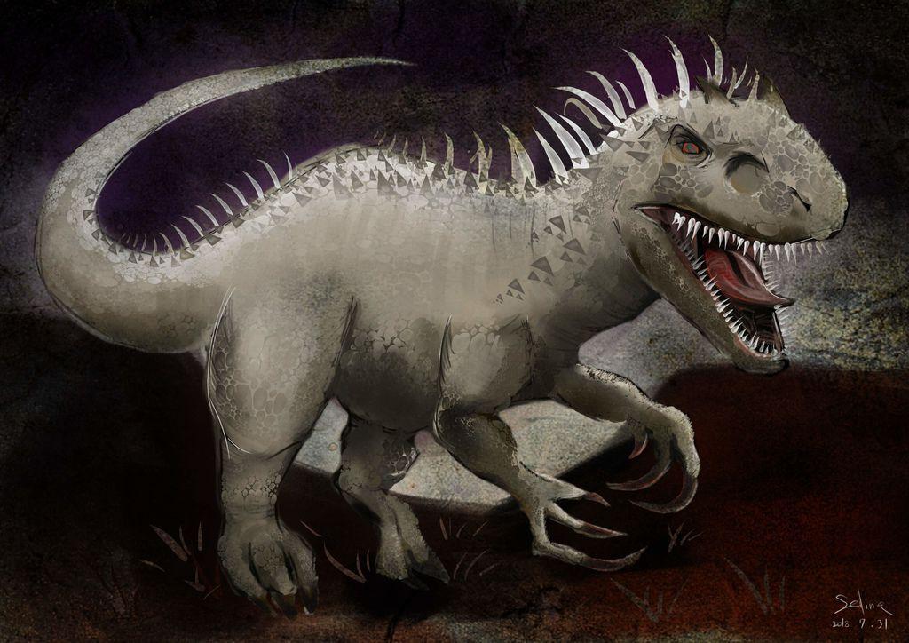 侏儸紀世界Jurassic Park-D-雷克斯暴虐霸王龍-洪韡庭.jpg