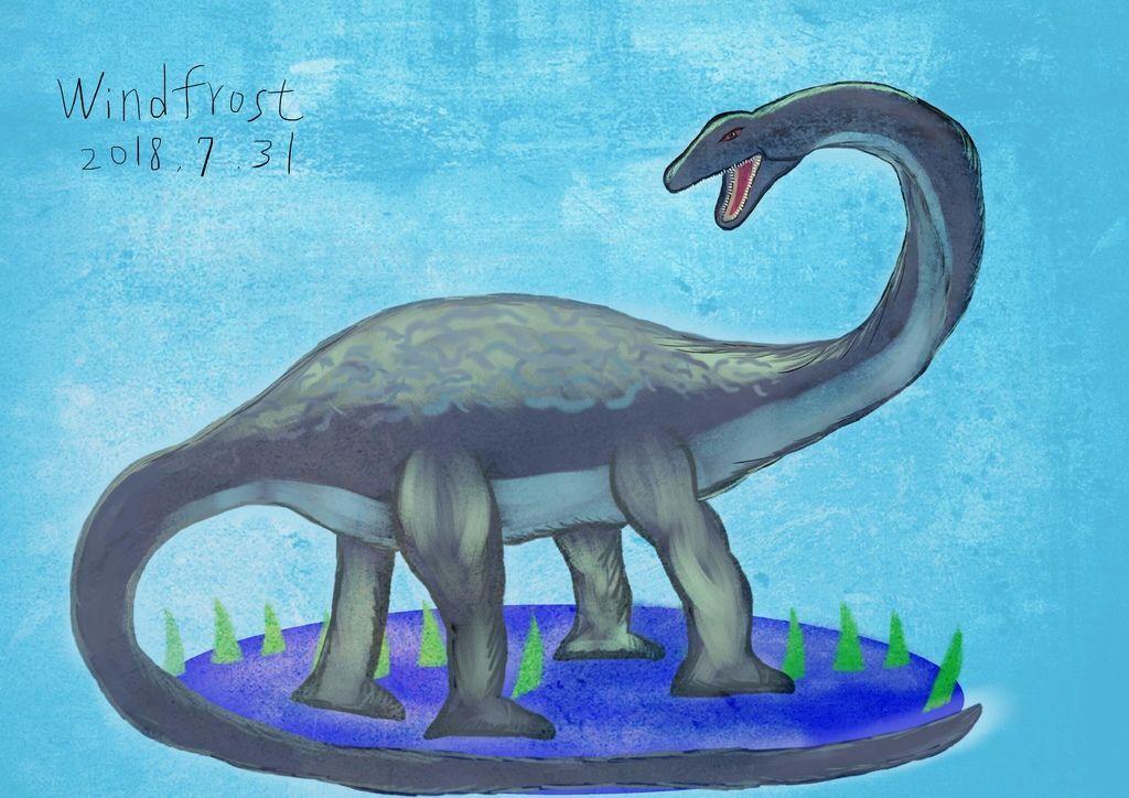 侏儸紀世界Jurassic Park-雷龍-陳彥安.jpg