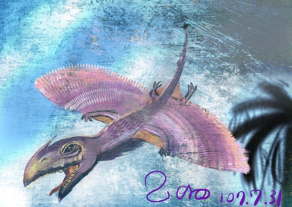 侏儸紀世界Jurassic Park-雙形齒獸-鄭舜元.jpg
