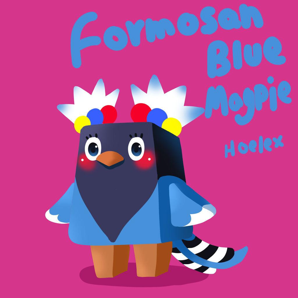 DODO方塊_藍鵲Formosan Blue Magpie _hoelex05.jpg