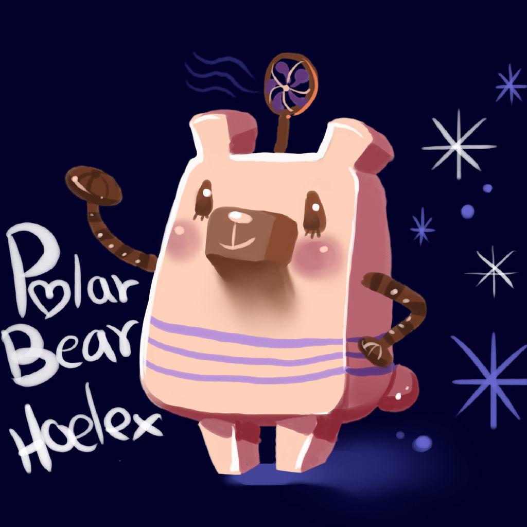 DODO方塊Polar Bear冷氣北極熊(冰冰).jpg