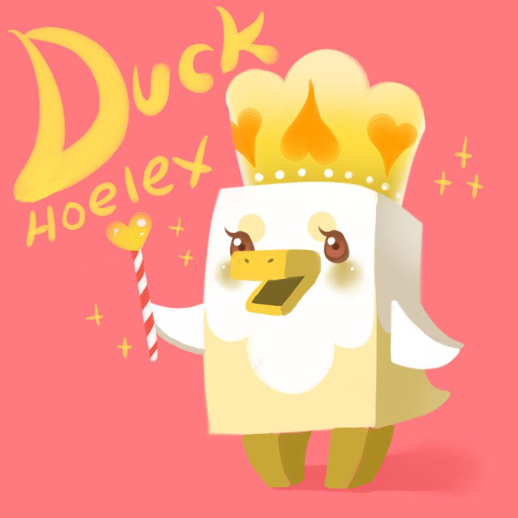 DODO方塊-Duck鴨鴨公主-HOELEX.jpg
