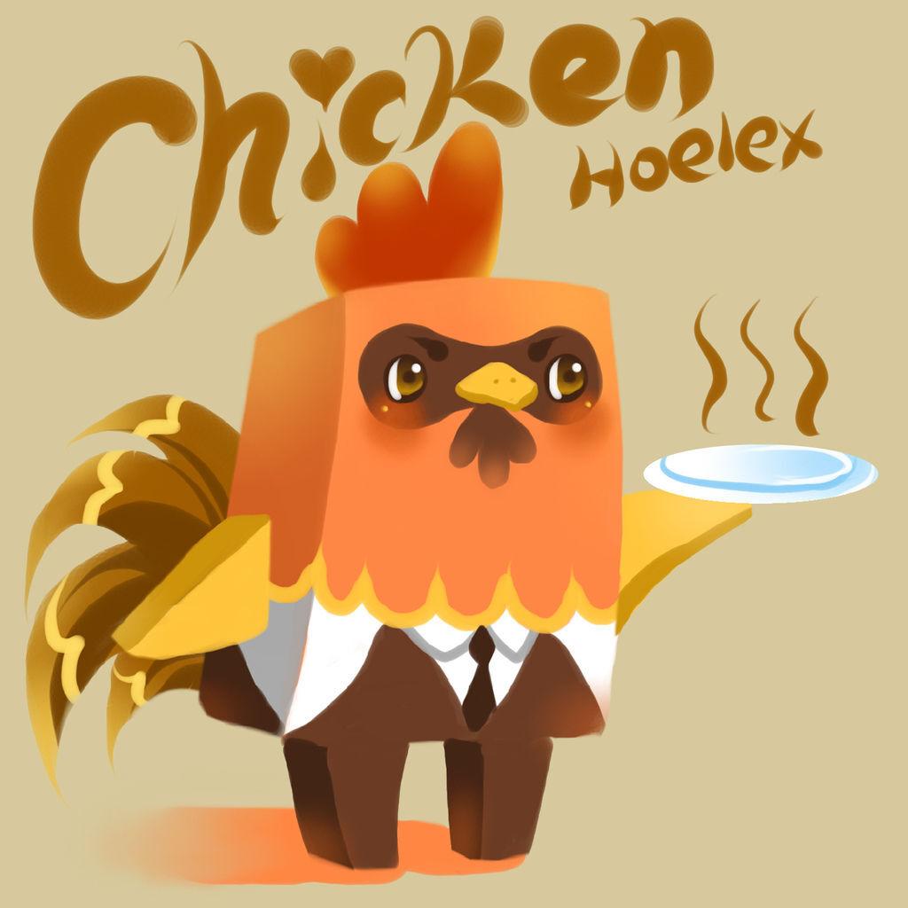 DODO方塊-Chicken嚴格雞管家-HOELEX.jpg
