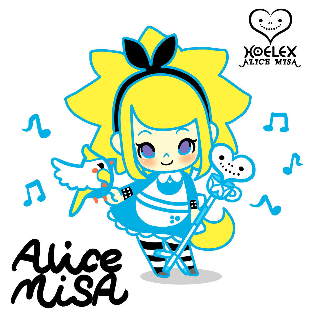 ALICE MISA心夢少女公仔-AmisA愛米莎-Alice in Wonderland愛麗絲夢遊仙境.jpg