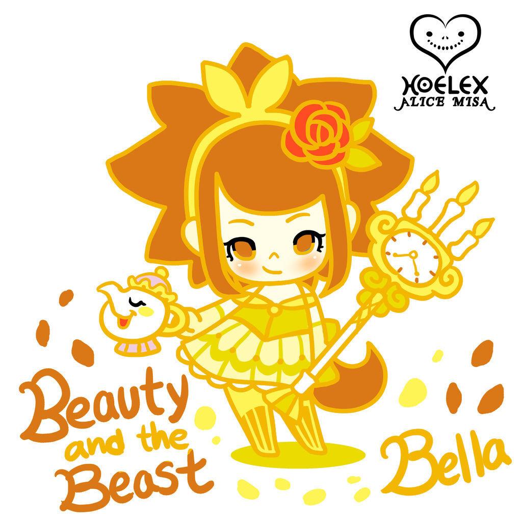 ALICE MISA心夢少女公仔-Beauty and the Beast美女與野獸Belle貝兒.jpg
