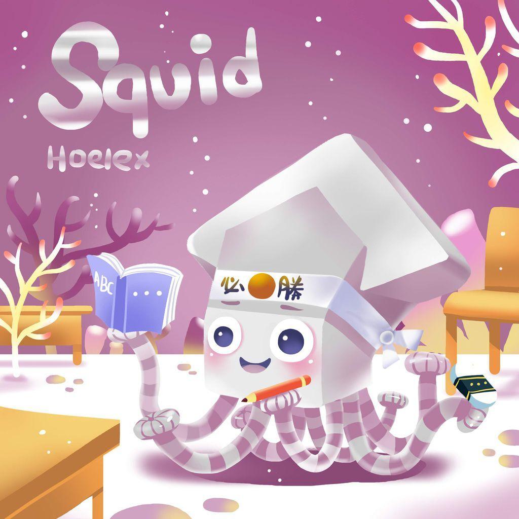 DODO ZOO方塊動物-Squid 魷魚必勝-hoelex10.jpg