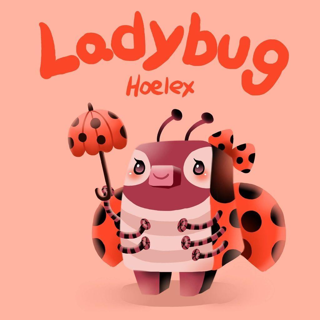 DODO ZOO方塊動物-LadyBug瓢蟲小淑女-hoelex.jpg