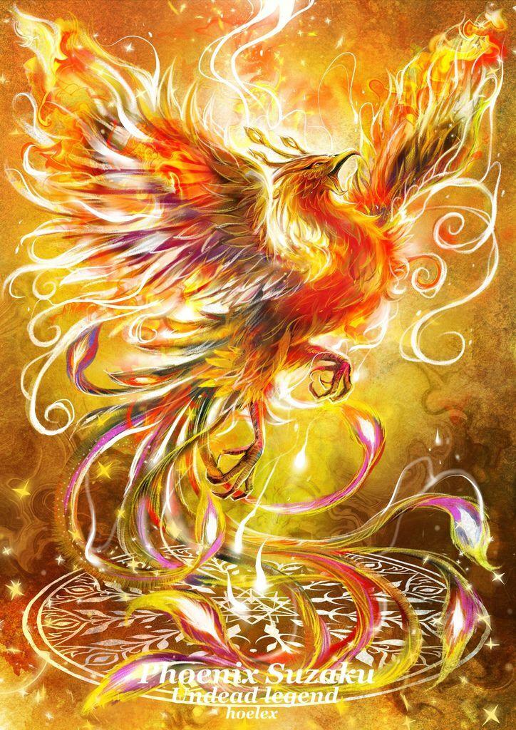 神奇守護幻獸-召喚魔法生物-鳳凰不死鳥Phoenix-hoelex1.jpg
