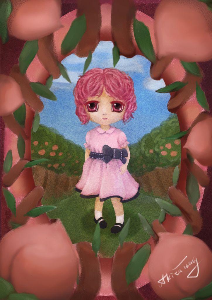 ★【水果果醬畫框Confiture系列】水蜜桃Peach-曾煥凱.jpg