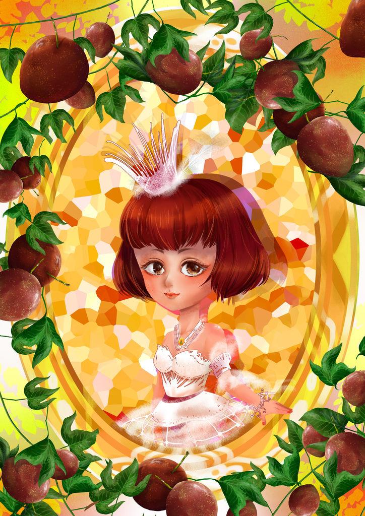 ★【水果果醬畫框Confiture系列】百香果Passion fruit-簡立絜(人物).jpg