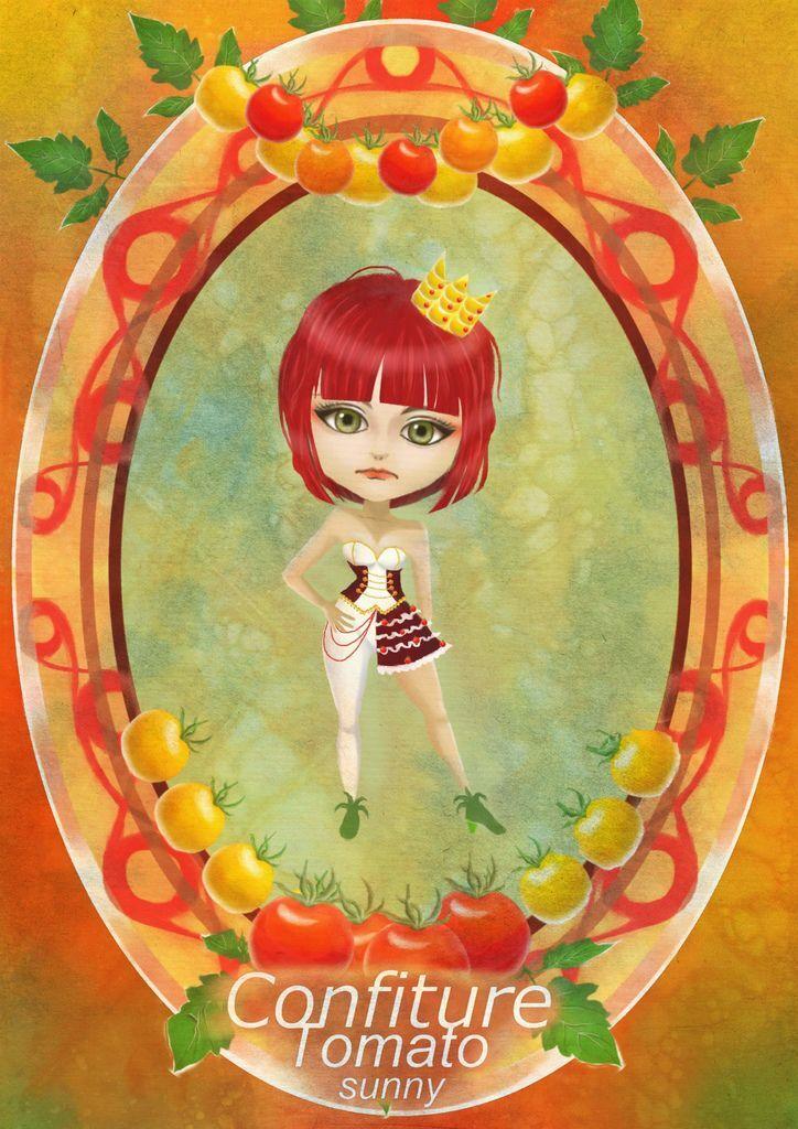 ★【水果果醬畫框Confiture系列】番茄Tomato-林珊.jpg