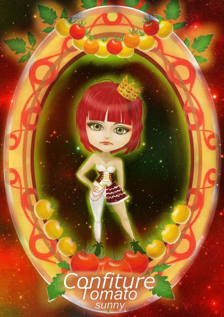 ★【水果果醬畫框Confiture系列】番茄Tomato-林珊09.jpg