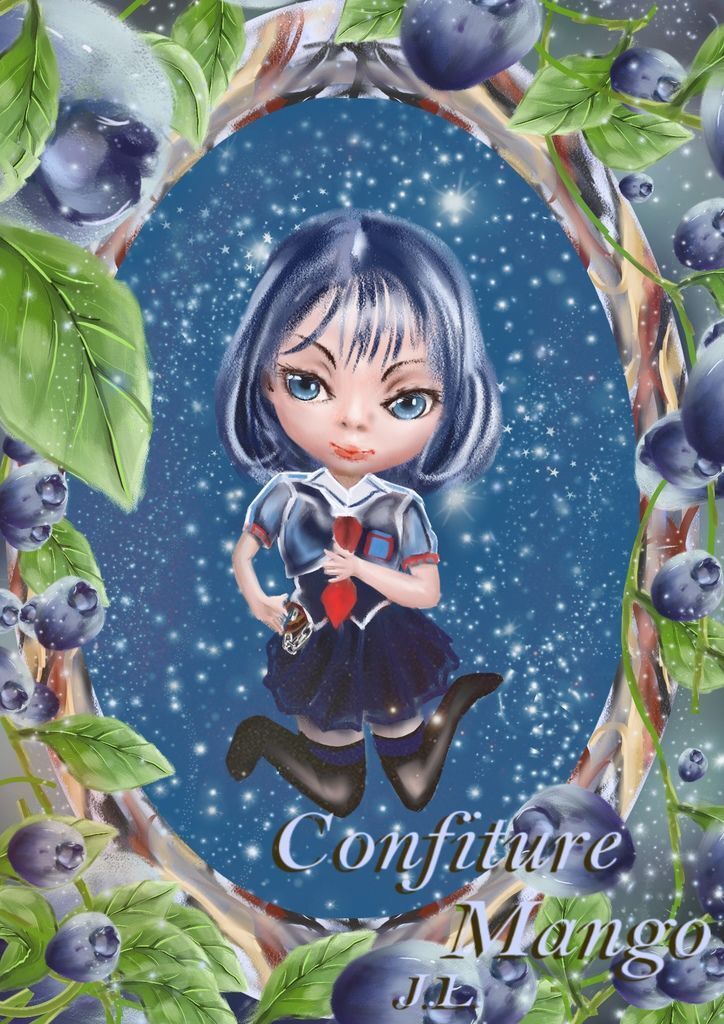 ★【水果果醬畫框Confiture系列】藍莓blueberry-林鑫佑.jpg