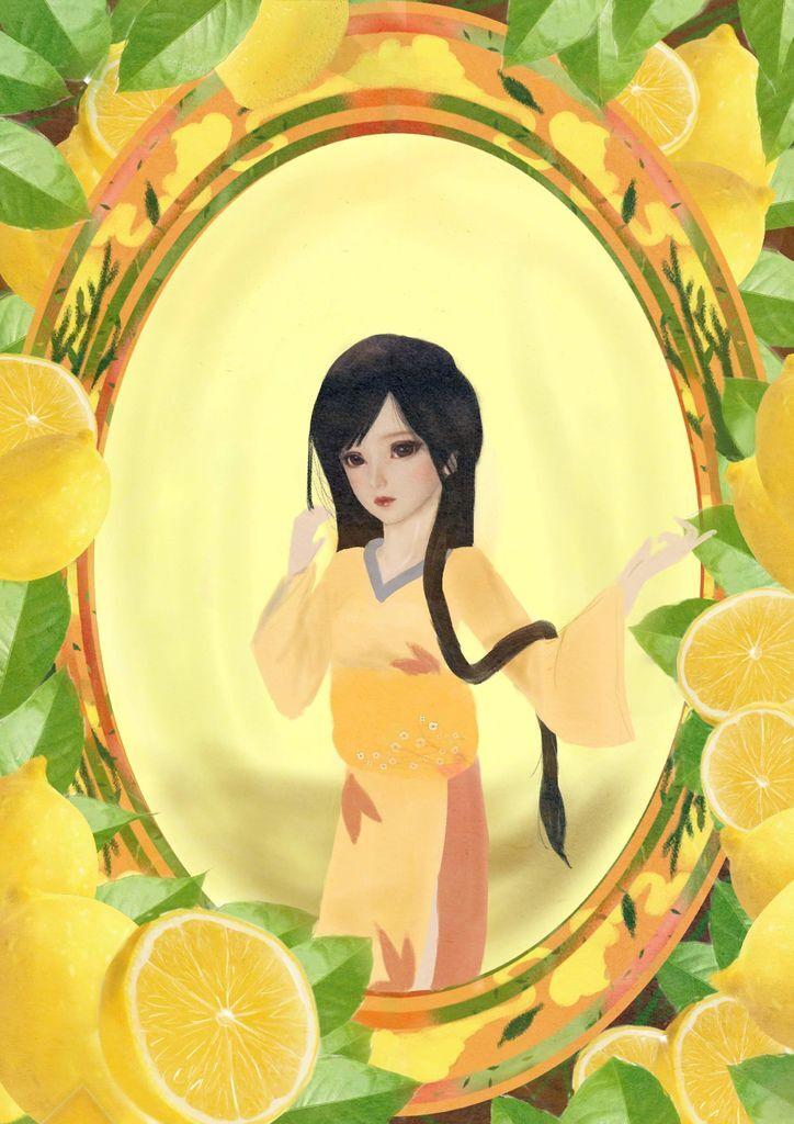 水果果醬畫框Confiture系列 檸檬 Lemon lin07.jpg
