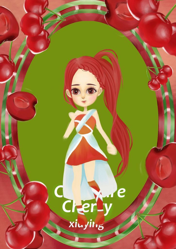 ★【水果果醬畫框系列】Confiture-Cherry-徐綉英.jpg