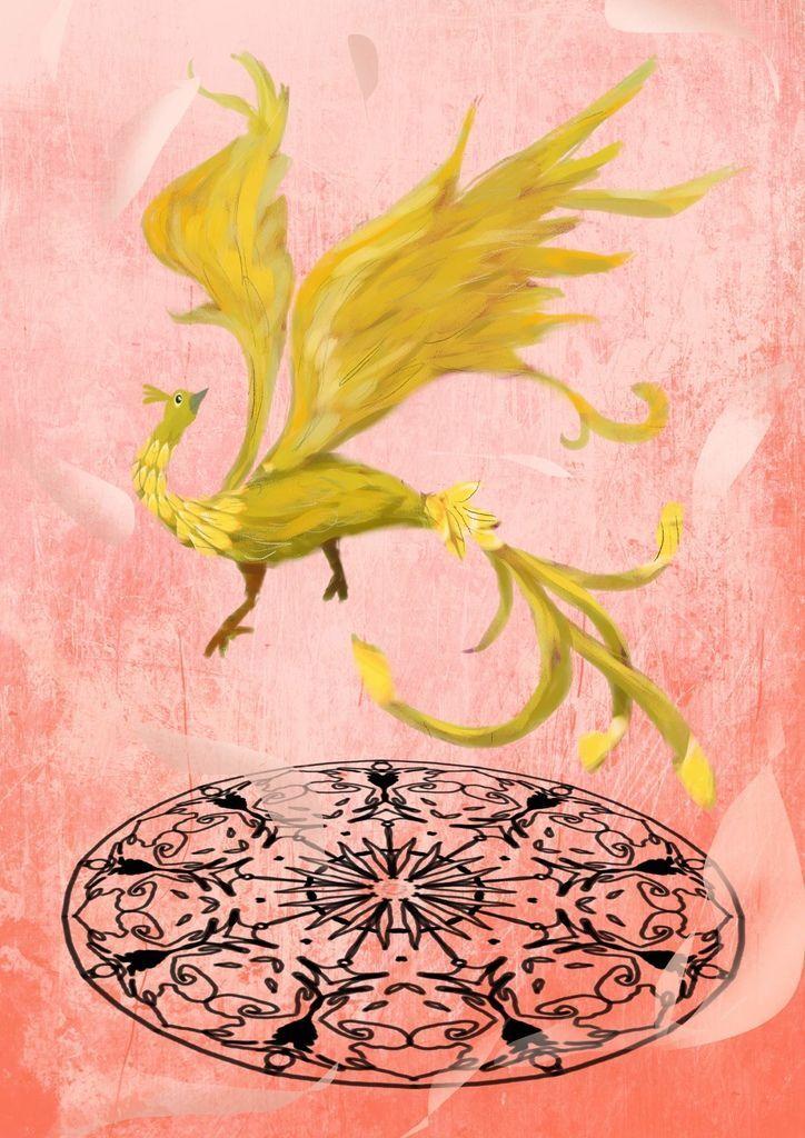 神奇守護幻獸-召喚魔法生物-金雀-念慈.jpg