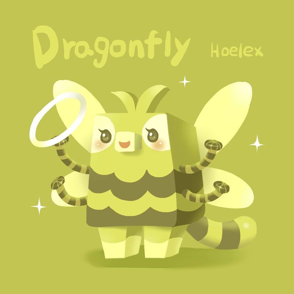 DODO ZOO 方塊動物-Dragonfly蜻蜓舞蹈者-hoelex.jpg