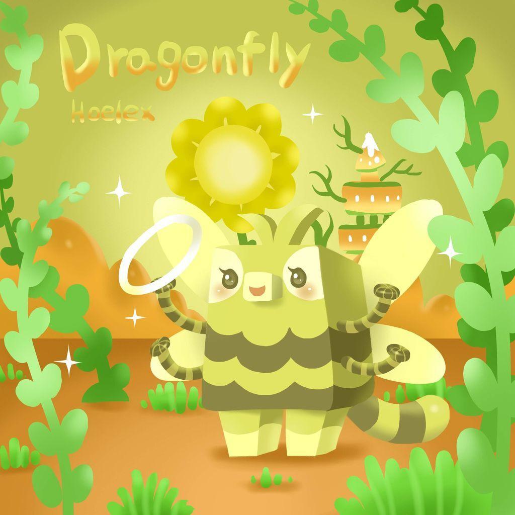 DODO ZOO 方塊動物-Dragonfly蜻蜓舞蹈者-hoelex(背景)2.jpg