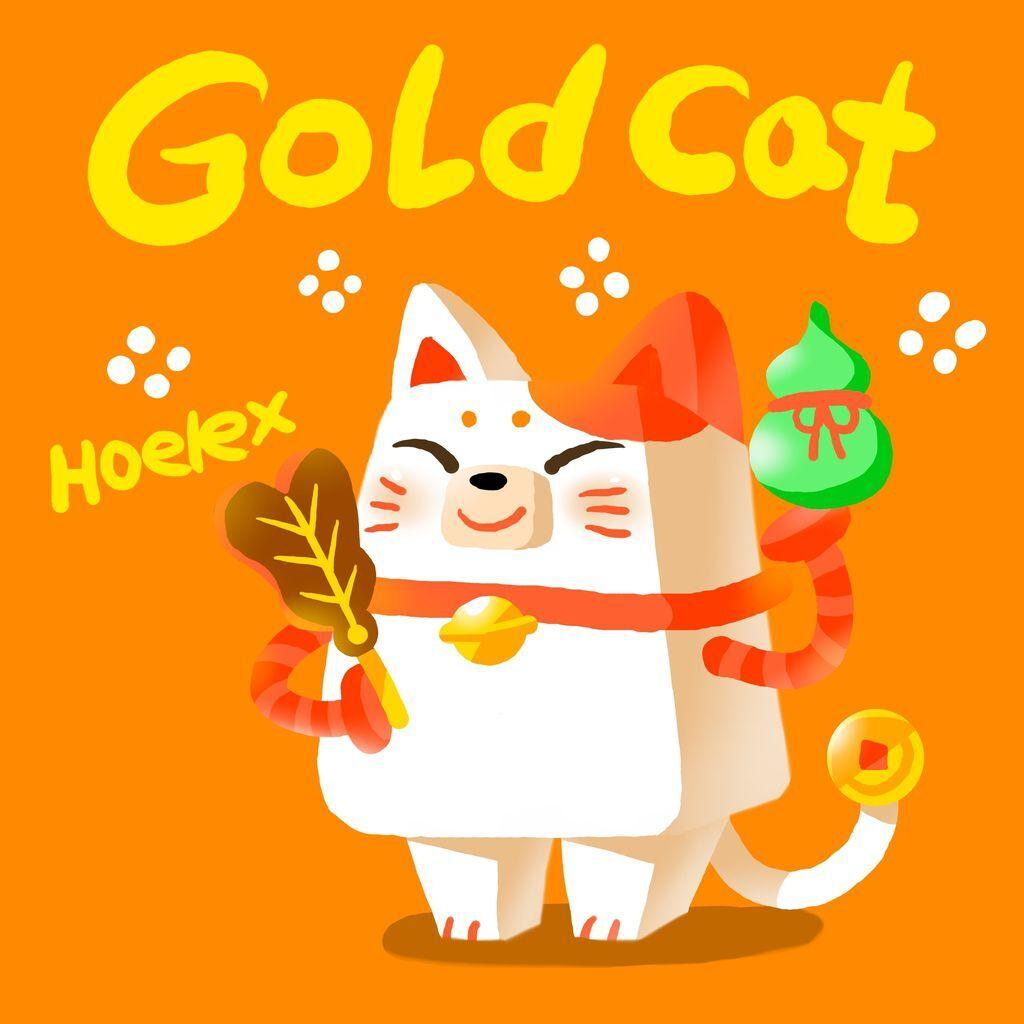 DODO ZOO方塊-金幣貓-GOLDCAT(立體).JPG